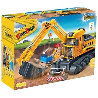 BanBao Interlocking Blocks Bucket Digger 8536 (262 Pcs)