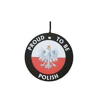 Proud To Be Polish Car Air Freshener