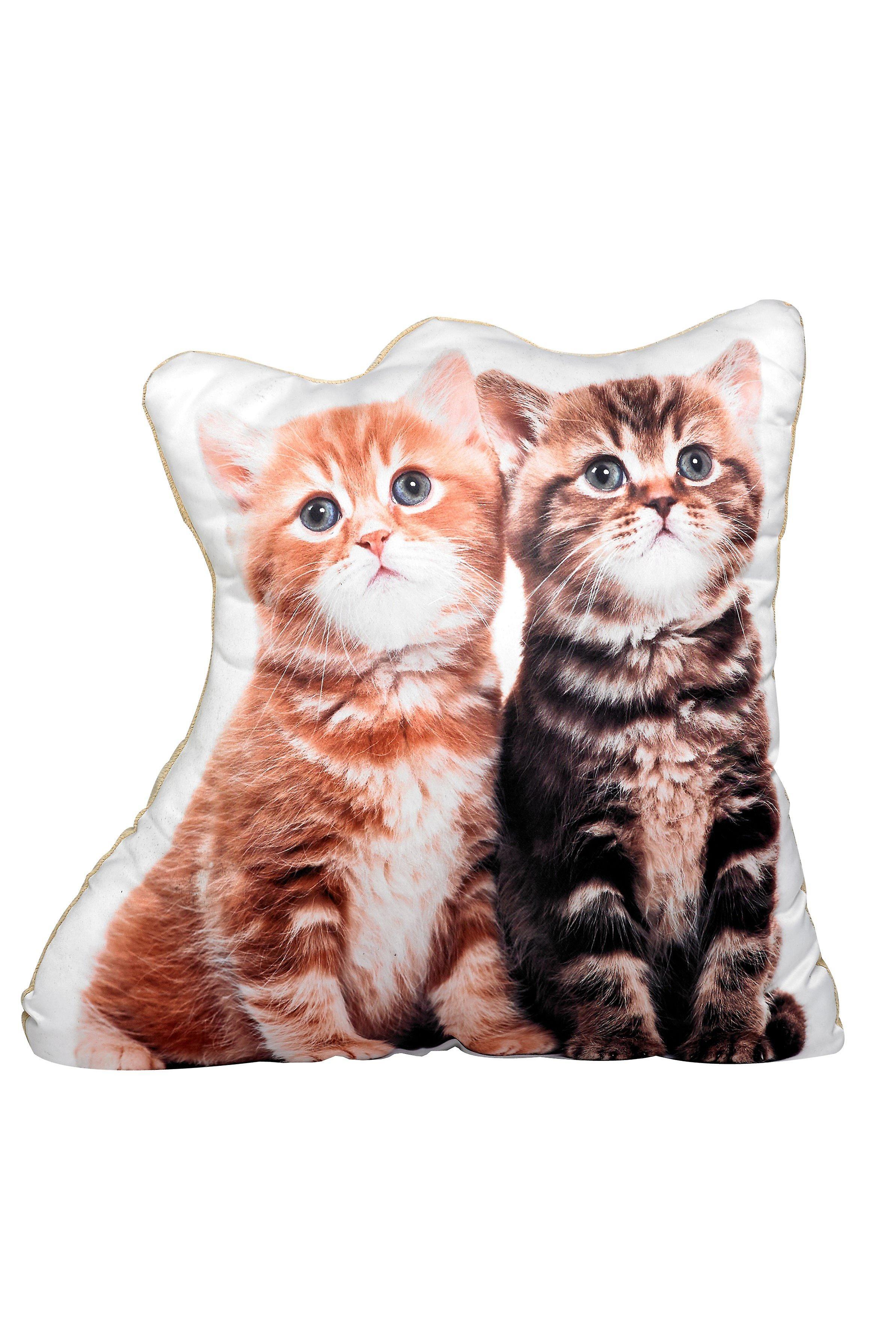 Adorable kitten shaped cushion