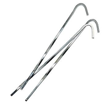 Yellowstone 7 Inch Steel Skewer Pegs 100 Pack
