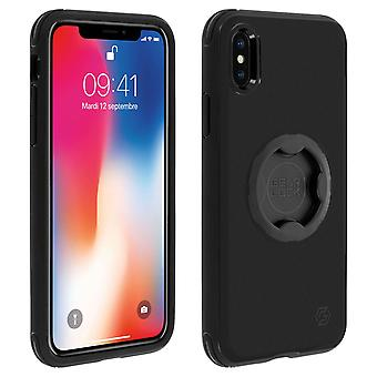 iPhone X and XS Case Bicycle Fixation GearLock Silicone Semi-rigid Spigen Black
