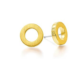 Kaytie Wu Gold Plated Circle Earrings 28065