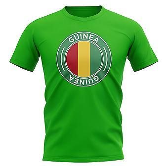 Guinea Football Badge T-Shirt (Green)