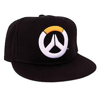 Overwatch Baseball Cap Basic Logo nowe Dziennik Black Snapback