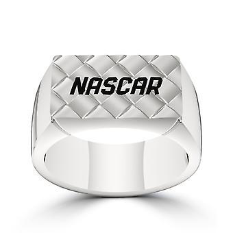 Nascar Ring In Sterling Silver Design by BIXLER