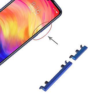 Tænd/sluk-knap blå for Xiaomi note 7/Pro Volume på off reservedel