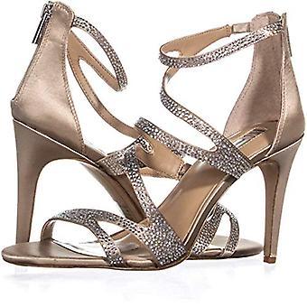 INC International Concepts Women's Regann2 Strappy Sandals Bisque Size 10M