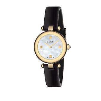 Gucci Ya141505 Diamantissima moeder van Pearl dial dames horloge