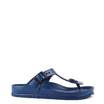 Birkenstock Gizeh Navy Rubber Thong Sandal