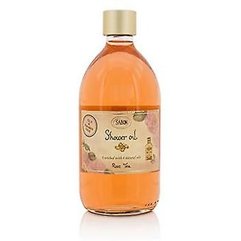Sabon ducha aceite - Rosa té - 500ml/17,59 oz