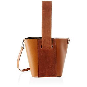 Good bag 8886 Brown Women's shoulder bag (Leather) 31x26x16 cm (W x H x L)
