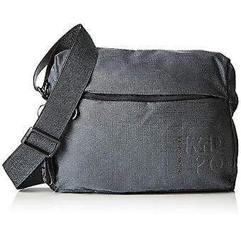 Mandarin Duck Md20 Lux Black Women's Bag Strap (Titanium) 28.5x21x10 cm (W x H x L)