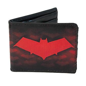Batman Punahilkka kaksoistaitos lompakko