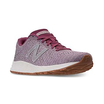 New Balance Womens Arishi Canvas Low Top Lace Up Running Sneaker