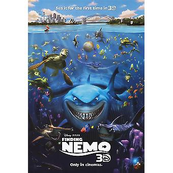 Finding Nemo 3D Poster Double Sided Advance (2012) Original Cinema Poster
