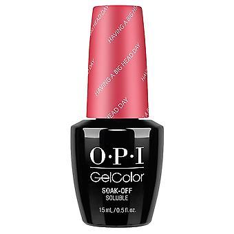 OPI GelColor Gel Color - Soak Off Gel Polish - Having A Big Head Day 15ml (GC BA7)