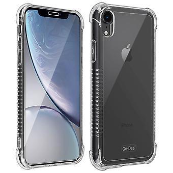 Omena iPhone XR tapa uksessa & edessä/takana näytön kalvo Magentic tabletti-läpinäkyvä
