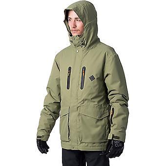 Rip Curl palmer Snow Jacket i Loden Green