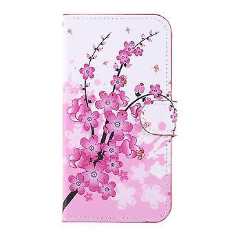iPhone 11 Pro Plånboksfodral - Plum Blossom