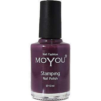 MoYou Stamping Nail Art - Special Nail Polish - Purple Rain 12ml