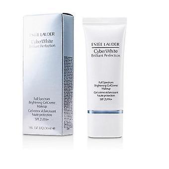 Estee Lauder Cyber biele celé spektrum rozjasnenie gelcreme makeup spf21 30ml