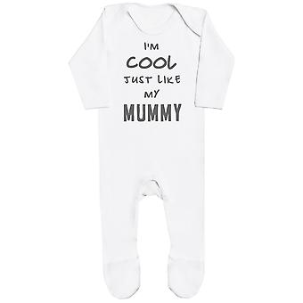 I'm Cool Just Like My Mummy Baby Romper