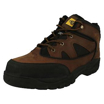 Mens Truka Safety Boot Combat