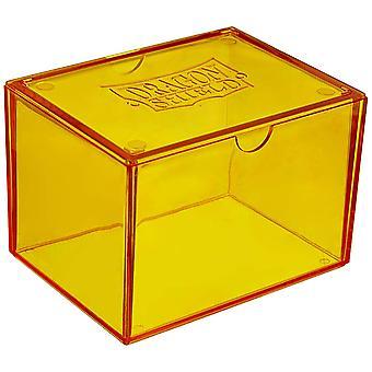 Dragon Shield Gaming Box sárga kártya játék