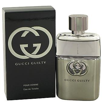 Gucci Guilty Eau De Toilette Spray By Gucci   483580 50 ml