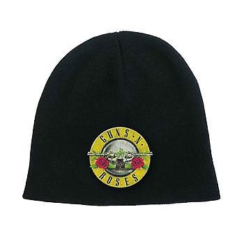 Guns N Roses Beanie Hat Cap band Logo GNR bullet new Official black
