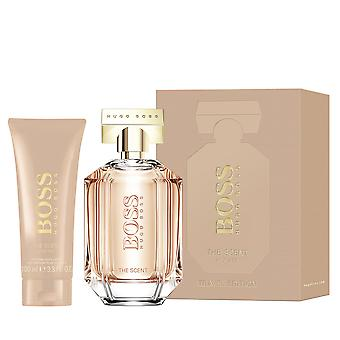 Giftset Hugo Boss The Scent for Her Edp 100 ml + Body Lotion 100ml