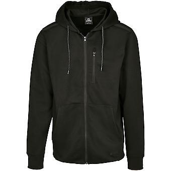 Southpole Men's Zip Hoodie Taped Tech Fleece Full