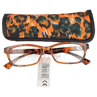 Pienempi & Pavey Leopard tulosta luku lasit