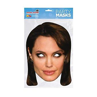 Angelina Jolie Celebrity Face Mask