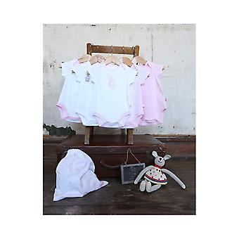 The Essential One Baby Girls Pastel Bodysuits - 5 Pack