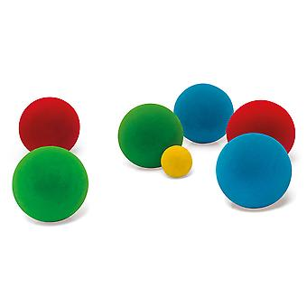 Rubbabu Bocce Ballen Set Eco Friendly Kids Kind Peuter Speelgoed