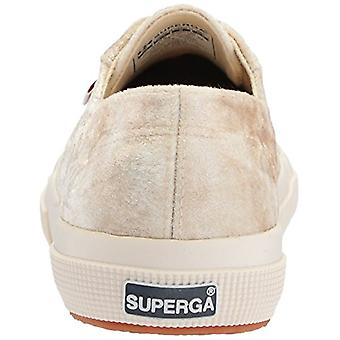 SUPERGA Dames TIEDEVEVETW Velvet Low Top Lace Up Fashion Sneakers