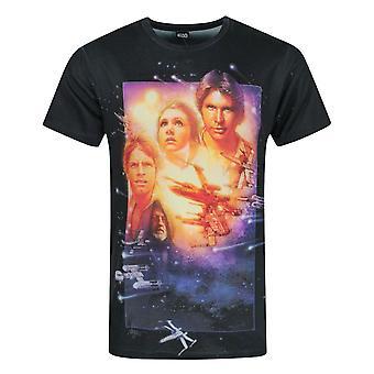 スター・ウォーズ 新しい希望昇華メン&アポス;s Tシャツ
