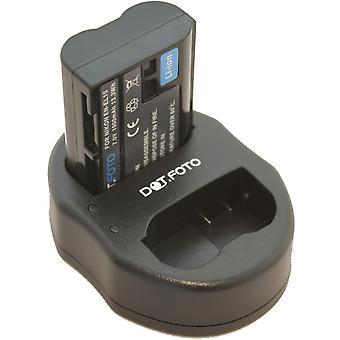 Dot.Foto Nikon EN-EL15 Replacement Battery + Dual USB Charger for Nikon V1, D500, D600, D610, D750, D800, D800E, D810, D7000, D7100, D7200