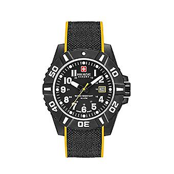 Swiss Military Mens Analog Quartz Silicone band Classic 06-4309.17.007.79 SM