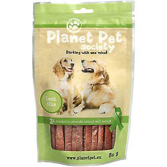 Planet Pet Lamb Smaksatta Snack Strips Snack (Hundar, Godis, Tuggiga och mjukare godisar)