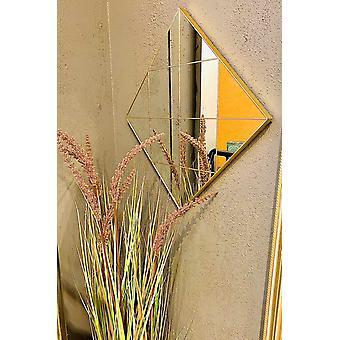 Speil gull rutete 40cm