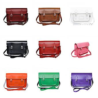 Zatchels Womens/Ladies Handcrafted Leather Satchel Bag (British Made)