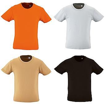 SOLS Childrens Kids Milo Organic T-Shirt