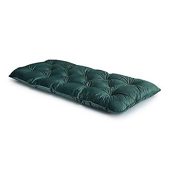 Aqua Blue SINGLE Velvet Loft 25® Memory Foam Futon Matras Bed Guest Spare Bed