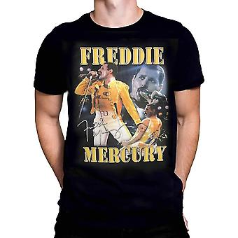 Freddie mercury - freddie homage - t-shirt