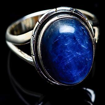 Kyanite Ring Size 11.75 (925 Sterling Silver)  - Handmade Boho Vintage Jewelry RING3091
