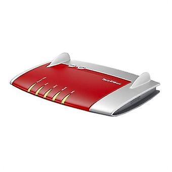 Wireless modem fritz! box7430 2,4 ghz 450 mbps white red