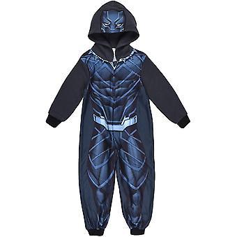 Jungen HS2119 Marvel Avengers Kapuzen Fleece Schlafanzüge / Onesie Pyjamas