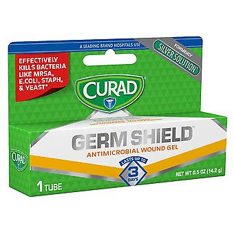 Curad germ shield antimicrobial wound gel, formerly silver solution, 0.5 oz